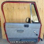 Wrangler YJ Laredo Full Steel Door