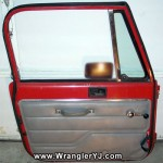 Wrangler YJ SE Full Steel Door